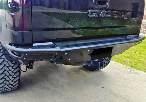 N-FAB RBS REAR BUMPER GLOSS BLACK | 2014-2018 CHEVY/GMC 1500