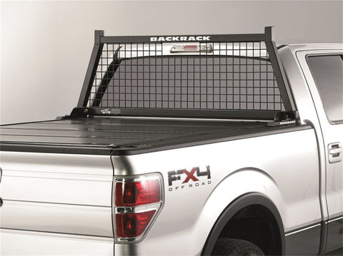 1999-2006 CHEVY/GMC WIRE MESH BACKRACK | BLACK, HARDWARE REQUIRED