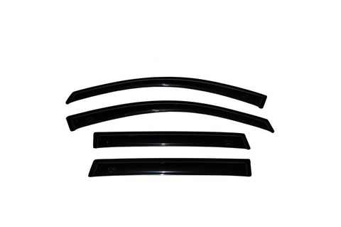 AVS VENTVISOR OUTSIDE MOUNT 4PC | 2002-2009 DODGE RAM 1500 QUAD CAB