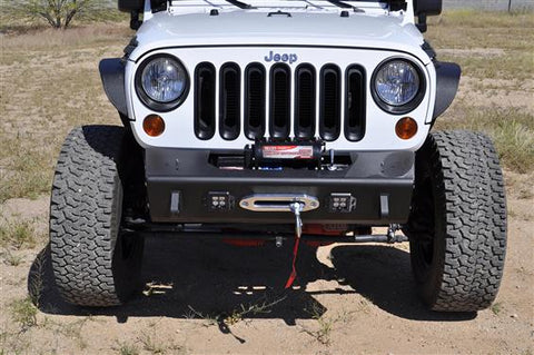 ADDICTIVE DESERT DESIGNS STEALTH FIGHTER FRONT BUMPER | 2007-2018 JEEP WRANGLER JK