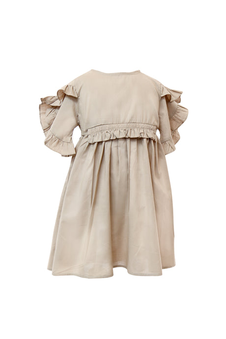 Victor Ruffled Dress
