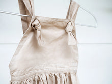 Iris Knotted Overall in Beige
