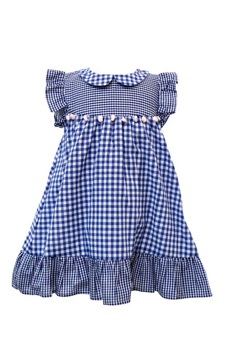 Aurelia Checkered Dress