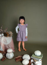 Maple Ruffled Overall Dress
