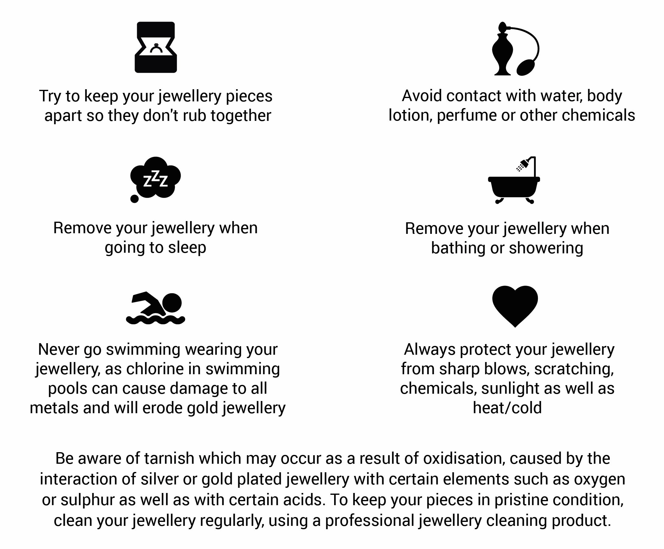 jewellery care instructions muchv