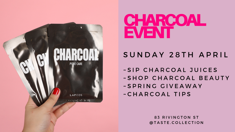 Charcoal Beauty Event
