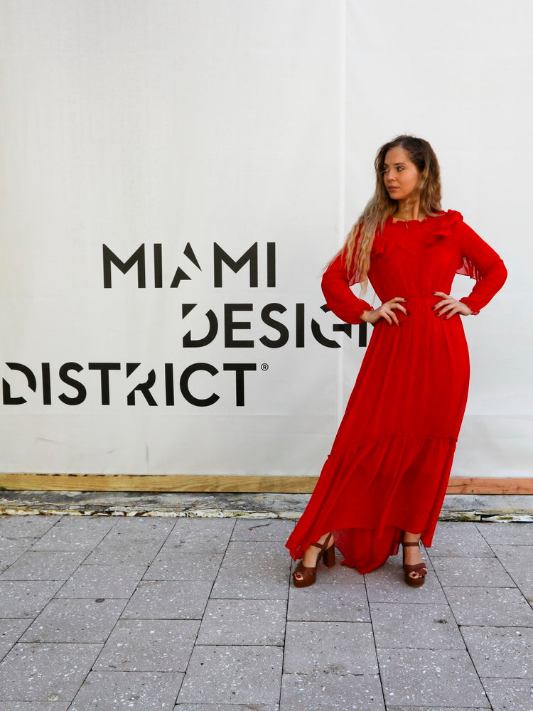 Karina at Miami Design District
