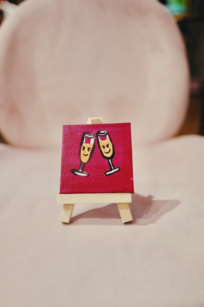 Mini Art : Mimosa Buddies