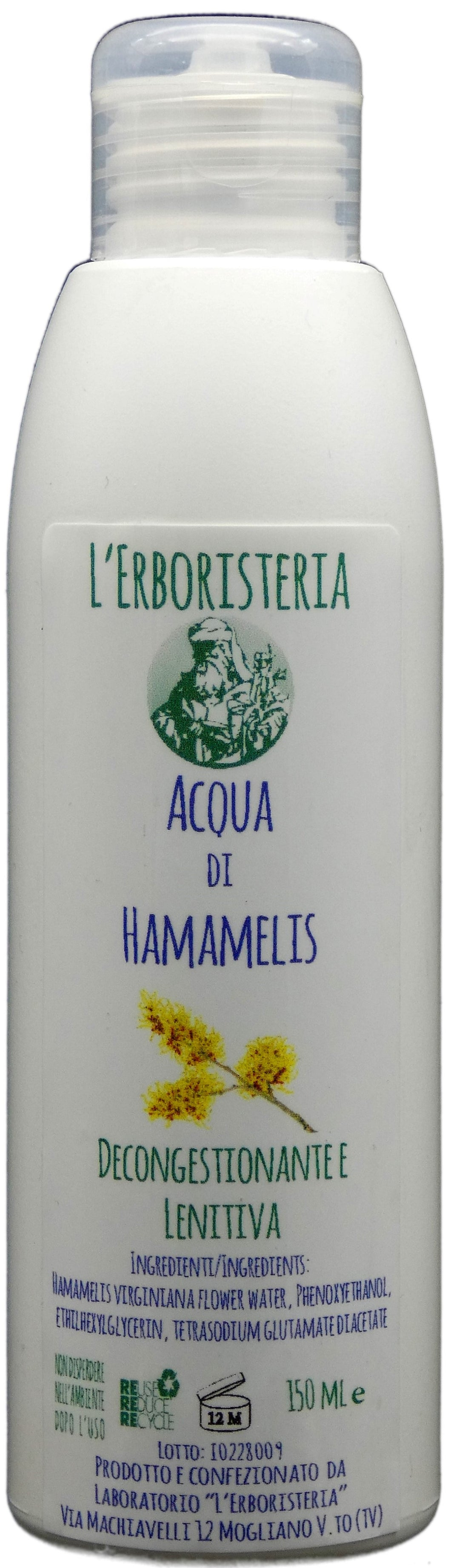 Acqua di  Hamamelis 150 ml