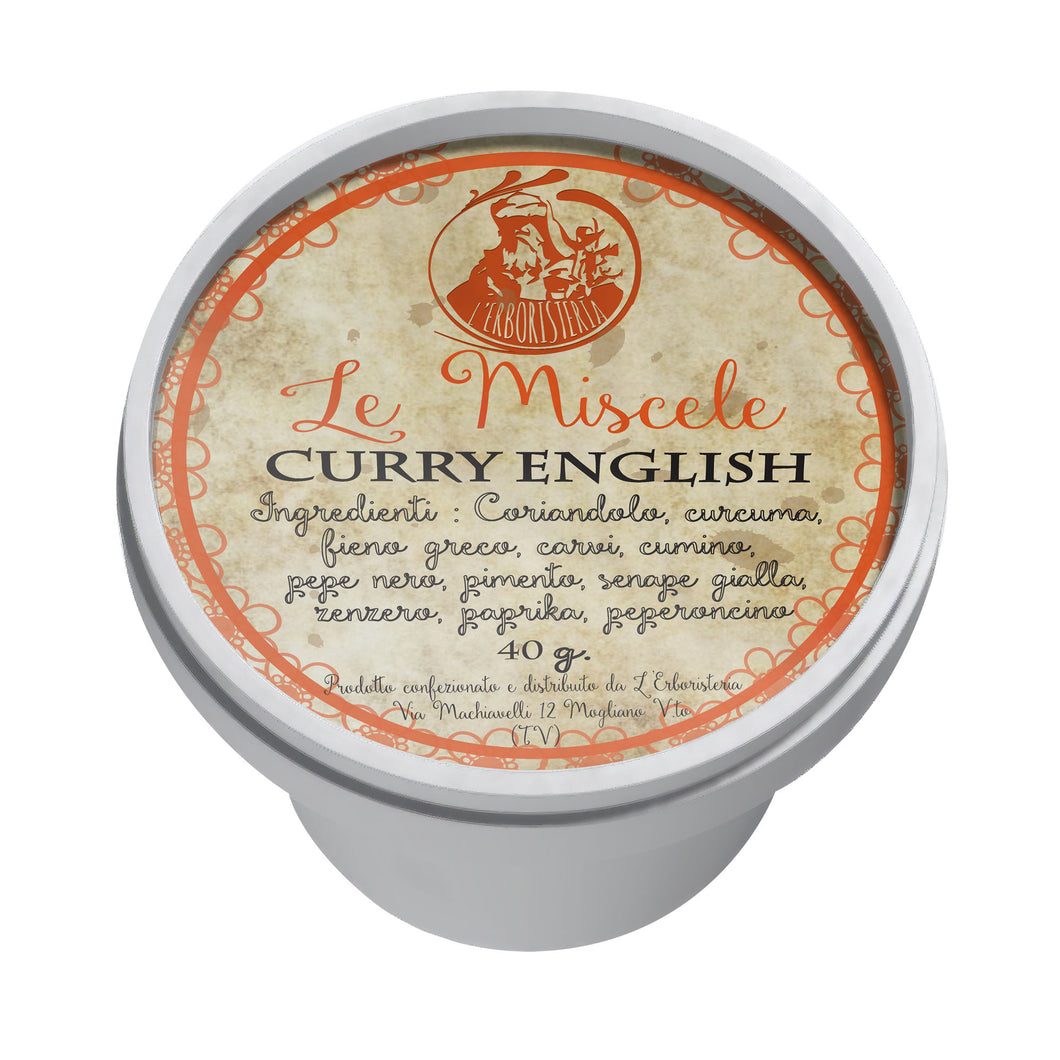 Curry English  40g