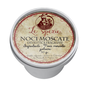 Noci Moscate in polvere(Myristica Fragrans) 50g