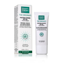 MARTIDERM FLUIDINIS APSAUGINIS KREMAS PROTEOS SCREEN SPF 50+ FLUID CREAM, 40 ml