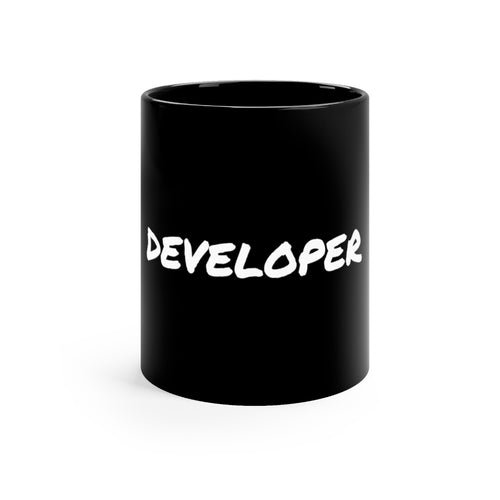 Developer Black Mug