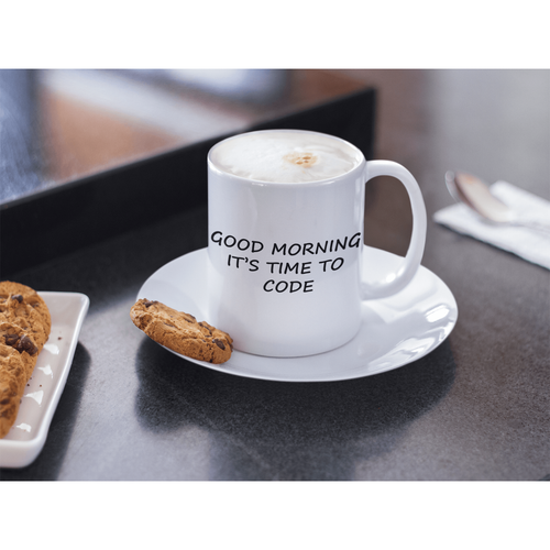 CodeParel | Good Morning It's Time To Code | Developer Coffee Mug