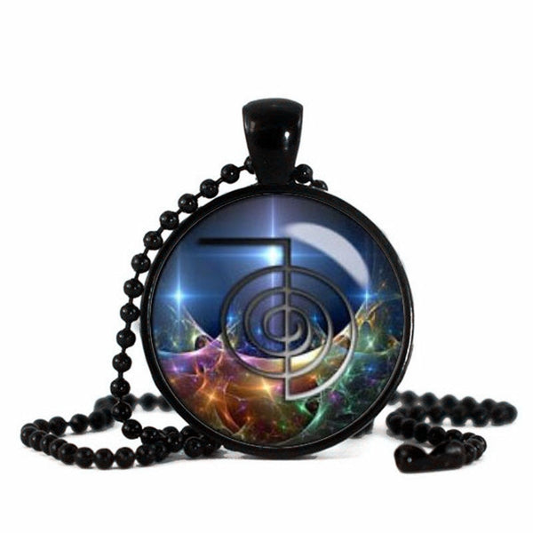 Energy Healing Necklace Reiki Master Sacred Fractal Geometry Nonofy