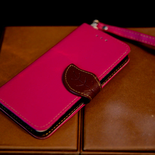 iPhone Leather Leaf