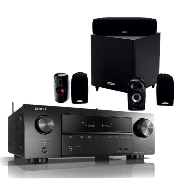 Denon AVR-X1600H + Polk Audio TL1600 - Digibit