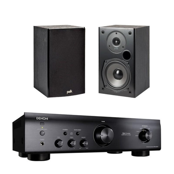 Denon PMA-520 + Polk Audio T15 - Digibit