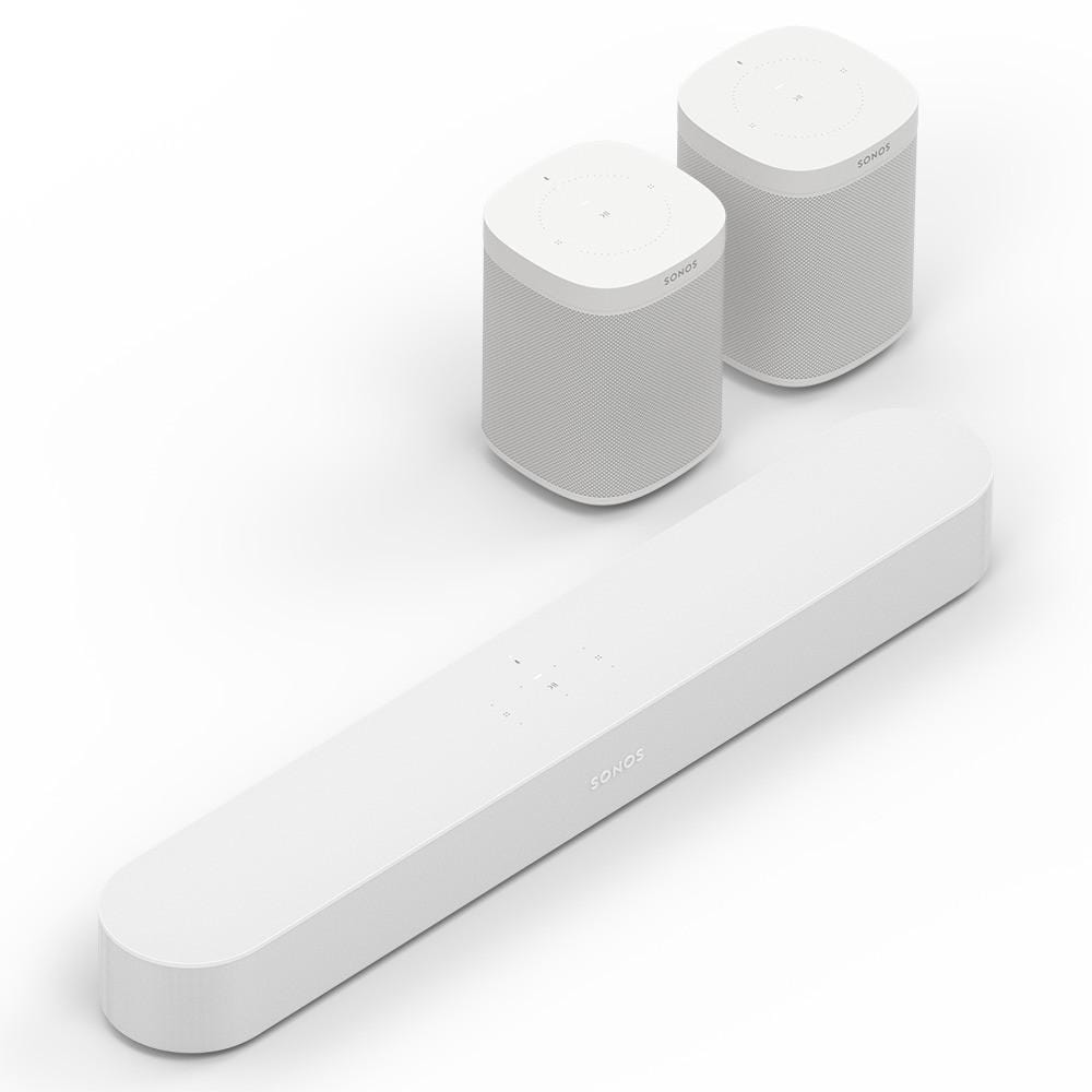 Sonos Beam + Sonos One 2 unidades-Digibit