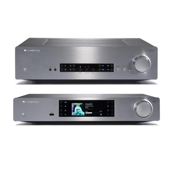 Cambridge Audio CXA60 + Cambridge Audio CXN (V2) - Digibit