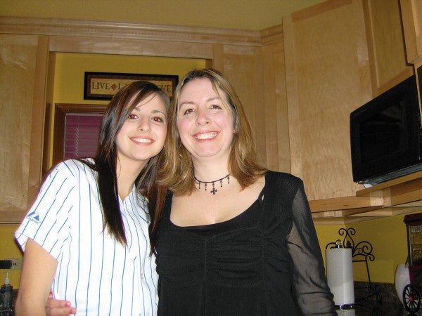 Alisha Bromfield and her mother Sherry