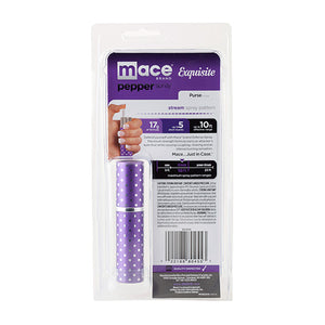 Mace Exquisite Purple Polka Dot Pepper Spray