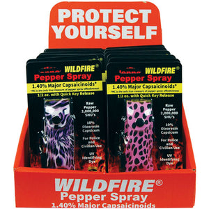 Wildfire Display 12 1/2 oz Soft Case for Pepper Spray