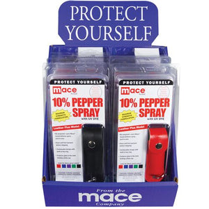 Mace Brand KeyGuard Softcase (12 Pack) Mixed for Pepper Spray