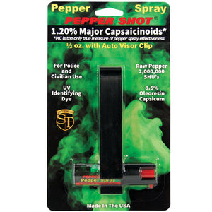 Car Auto Visor Pepper Spray