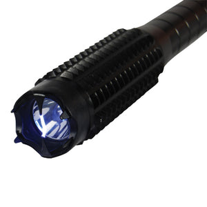 SM 20 MV Bad Boy Metal Stun Baton Flashlight