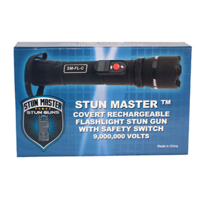 SM Covert Tactical Stun Flashlight 9 MV