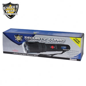 SW Security Guard Stun Flashlight 4 MV