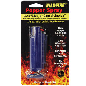 Wildfire Hard Case Key Ring Pepper Spray