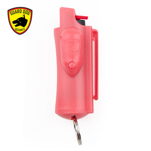 Guard Dog 18% OC Hard Case Keychain Pepper Spray w/ Laser Sight (Accufire)