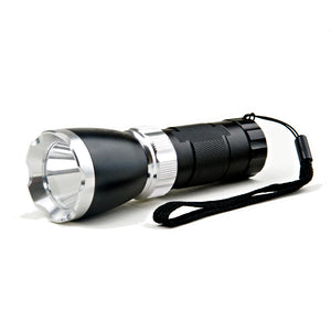 Vista 200 lumen (3 light functions) tactical flashlight