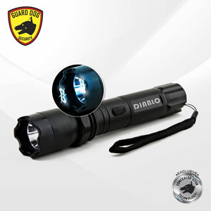 Concealed Stun Gun and Flashlight (Diablo)
