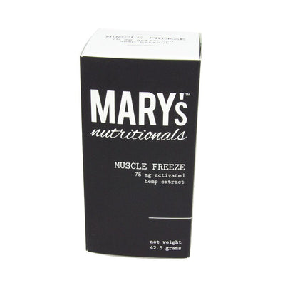Mary's Nutritionals | Muscle Freeze | 75mg CBD - Plant-Essence