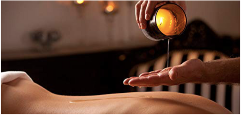 Hot Wax Candle Massage