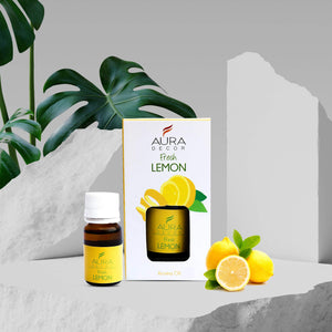 Aromatherapy Oil 100% Therapeutic Grade  (  Fresh Lemon  )