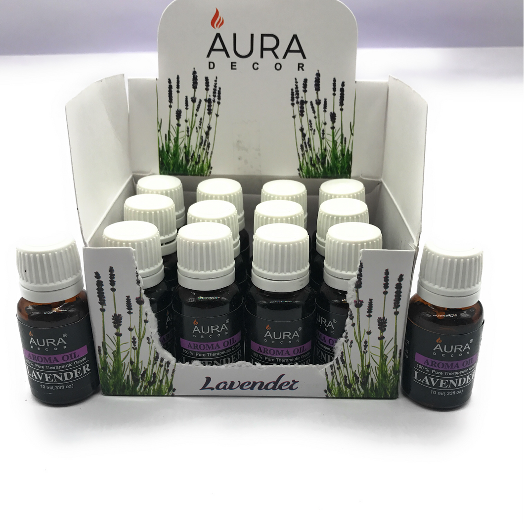 Pack of 12 Aroma therapy Oils ( 10ml ) - auradecor.co.in