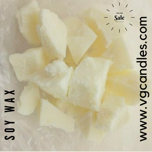AuraDecor Soy Wax for Candle Making ( 100% Organic ) (Especially for Jar Candles & not Pillar Candles )