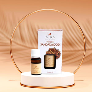 Aromatherapy Oil 100% Therapeutic Grade  ( Mysore Sandal Wood )
