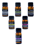 AuraDecor Set of 6 Highly Fragrance Aroma therapy Oils (10 ml Each) - auradecor.co.in