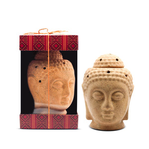 AuraDecor Buddha Electric Gift Set with Aroma Oil 10ml Aroma Oil & 1 Extra Bulb