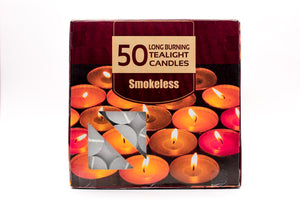 AuraDecor Tealight Bulk Buy Pack ( Master Box ) ( Burning Time 1.5 Hours Approx)