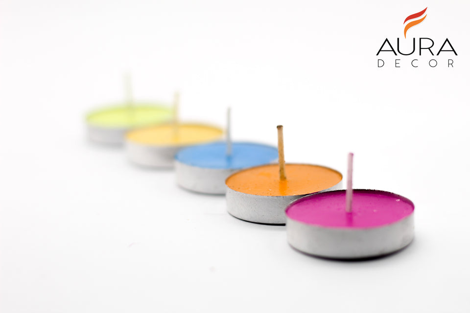 AuraDecor Tealight Bulk Buy Pack ( Master Box ) ( Burning Time 2 Hours Approx)