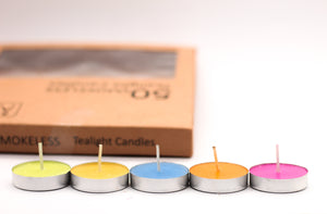 AuraDecor Tealight Bulk Buy Pack ( Master Box ) ( Burning Time 3 Hours Approx)