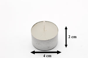 AuraDecor Tealight Bulk Buy Pack ( Master Box ) ( Burning Time 9 Hours Approx)