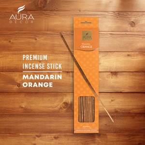 Mandarin Orange Aroma Incense Sticks ( 40 Sticks )