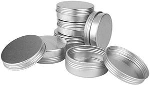 Auradecor Empty Tin Containers for Candle Making